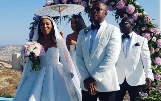 The Voice Nigeria co-host Stephanie Coker weds in Greece