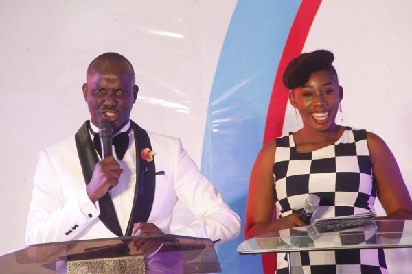 The Hosts, Niyi Ojemakinde and Unoma Akiti