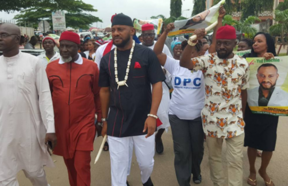 Yul Edochie says viral video of him conceding defeat to…