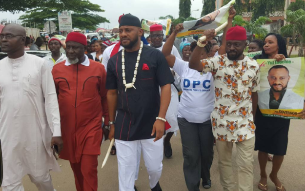 Yul Edochie says viral video of him conceding to Obiano is from a movie | TheCable.ng