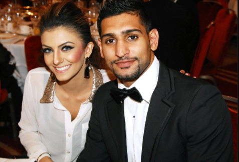Amir Khan and wife to 'start afresh' after public spat,…