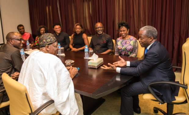 Osinbajo lauds Nigeria's entertainment industry | TheCable.ng