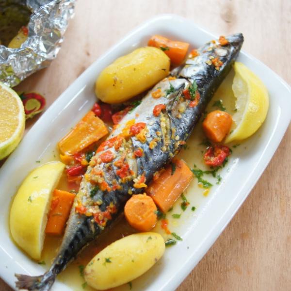 Titus Fish In Orange Sauce