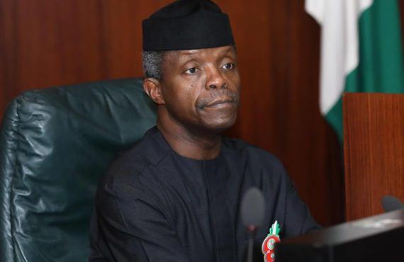 Osinbajo shares story of typist 'who only had SSCE' but…