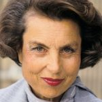 Liliane Bettencourt On January 1st, 1987  (Photo by Frederic REGLAIN/Gamma-Rapho via Getty Images)