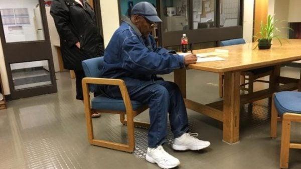 OJ Simpson just released on parole