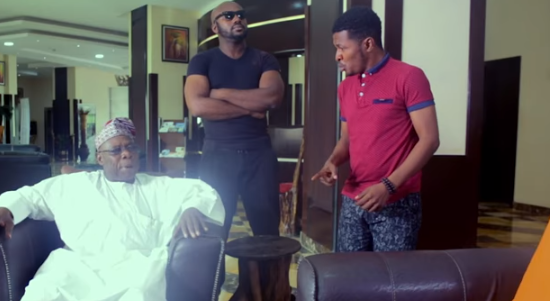 WATCH: Obasanjo stars in Samuel Ajibola's 'Dele Issues'