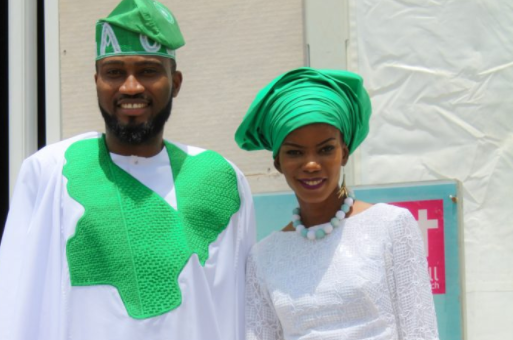 PHOTOS: Ohimai Amaize, wife model Independence Day-inspired outfits | TheCable.ng