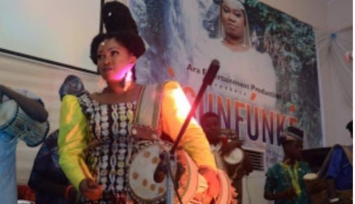 PHOTOS: Queen of drums, Ara, premieres new movie 'Osunfunke' | TheCable.ng
