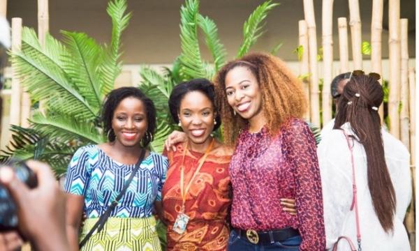 filmBiola Alabi, Lala Akindoju and guest