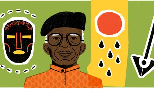 Chinua Achebe honoured with Google Doodle | TheCable.ng