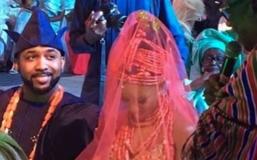 PHOTOS: Banky W and Adesua Etomi's star-studded wedding