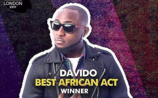 Davido wins Best African Act at MTV EMA | TheCable.ng