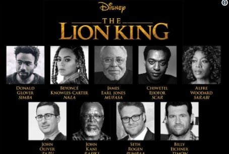Disney Releases Teaser Trailer For The Lion King