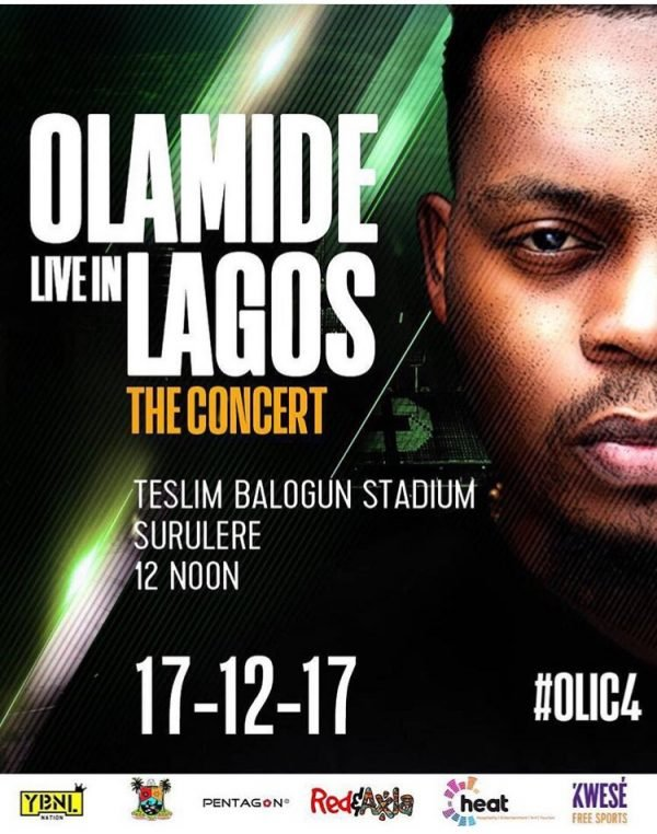 Olamide Live in Lagos - The Concert