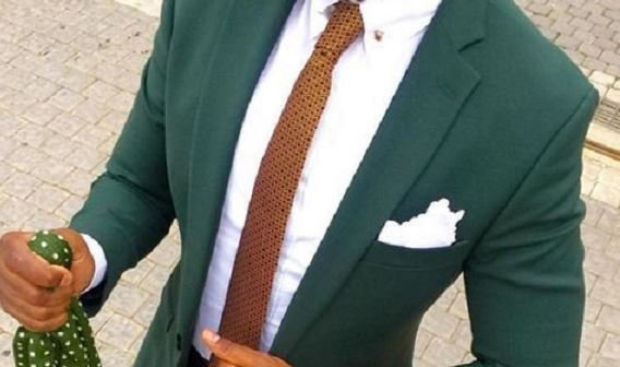 How to wear the not-so-serious but classy green suit