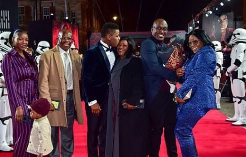 John Boyega attends Star Wars premier with his family | TheCable.ng