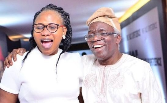 Femi and Funmi Falana at The Falz Experience | TheCable.ng