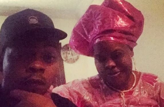 Olamide and his late mother