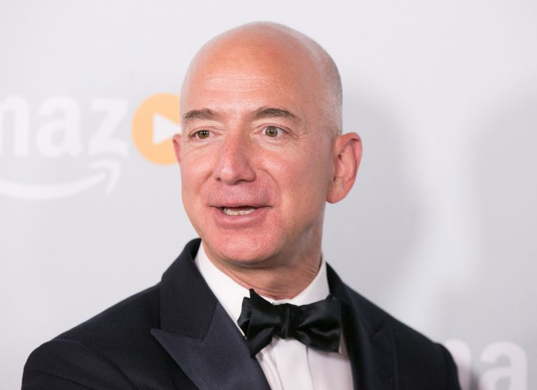 Jeff Bezos now the richest person in history