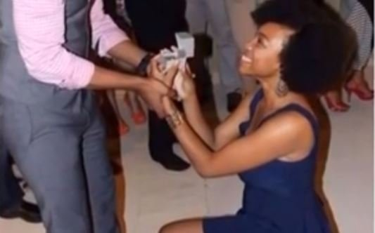 POLL: Ladies, would you propose to a man?