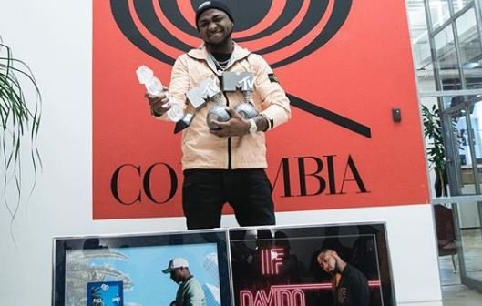 Davido's 'FALL' certified platinum as 'IF' hits diamond status