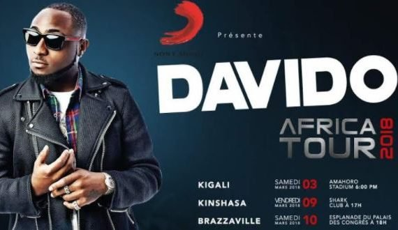 Davido to embark on Francophone Africa tour, strikes partnership with…