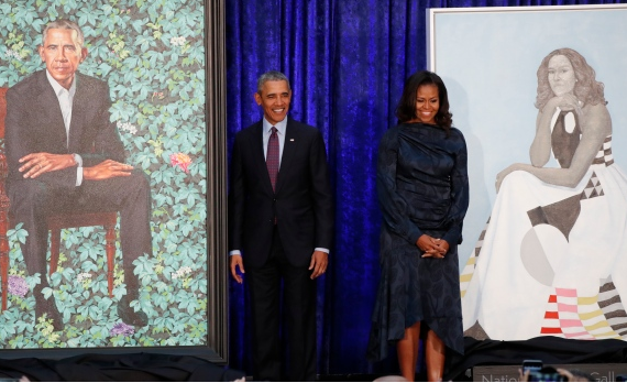 VIDEO: Obama unveils presidential portrait painted by Nigerian