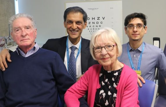 Blindness cure in sight as doctors help two patients read…