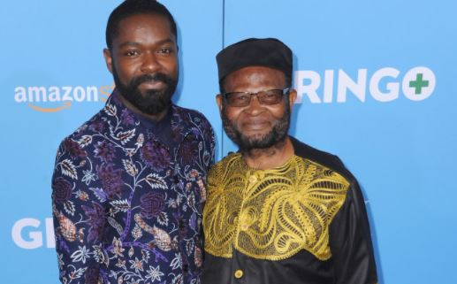PHOTOS: David Oyelowo, father, wife rock African print ...