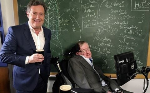 Piers Morgan writes about Stephen Hawking   TheCable.ng