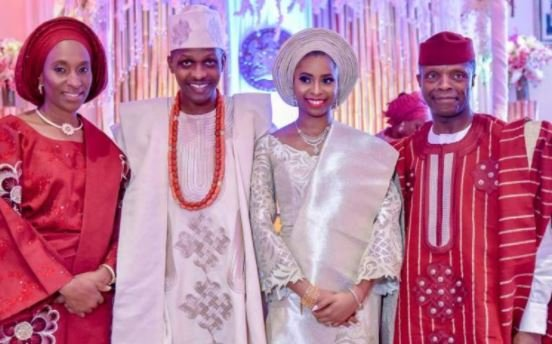 PHOTOS: Osinbajo holds traditional wedding for daughter in Aso Villa