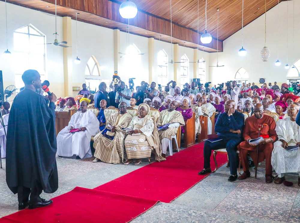 2. 90th birthday anniversary service of Chief Ayo Adebanjo2