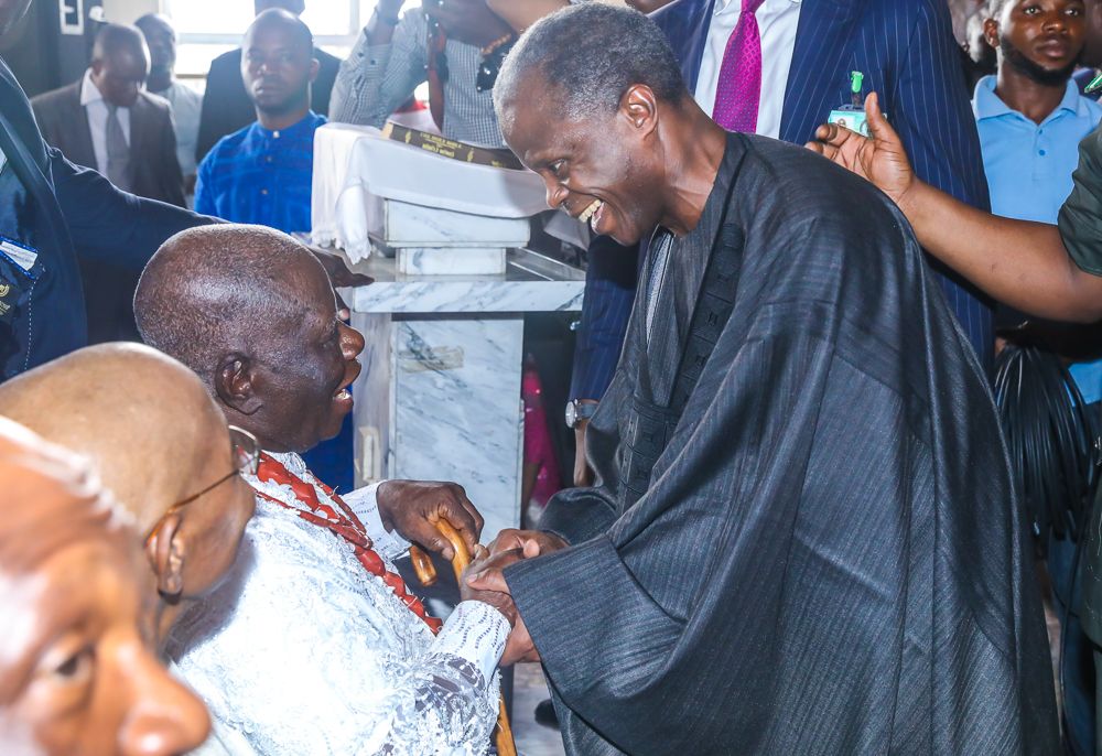 5. 90th birthday anniversary service of Chief Ayo Adebanjo6