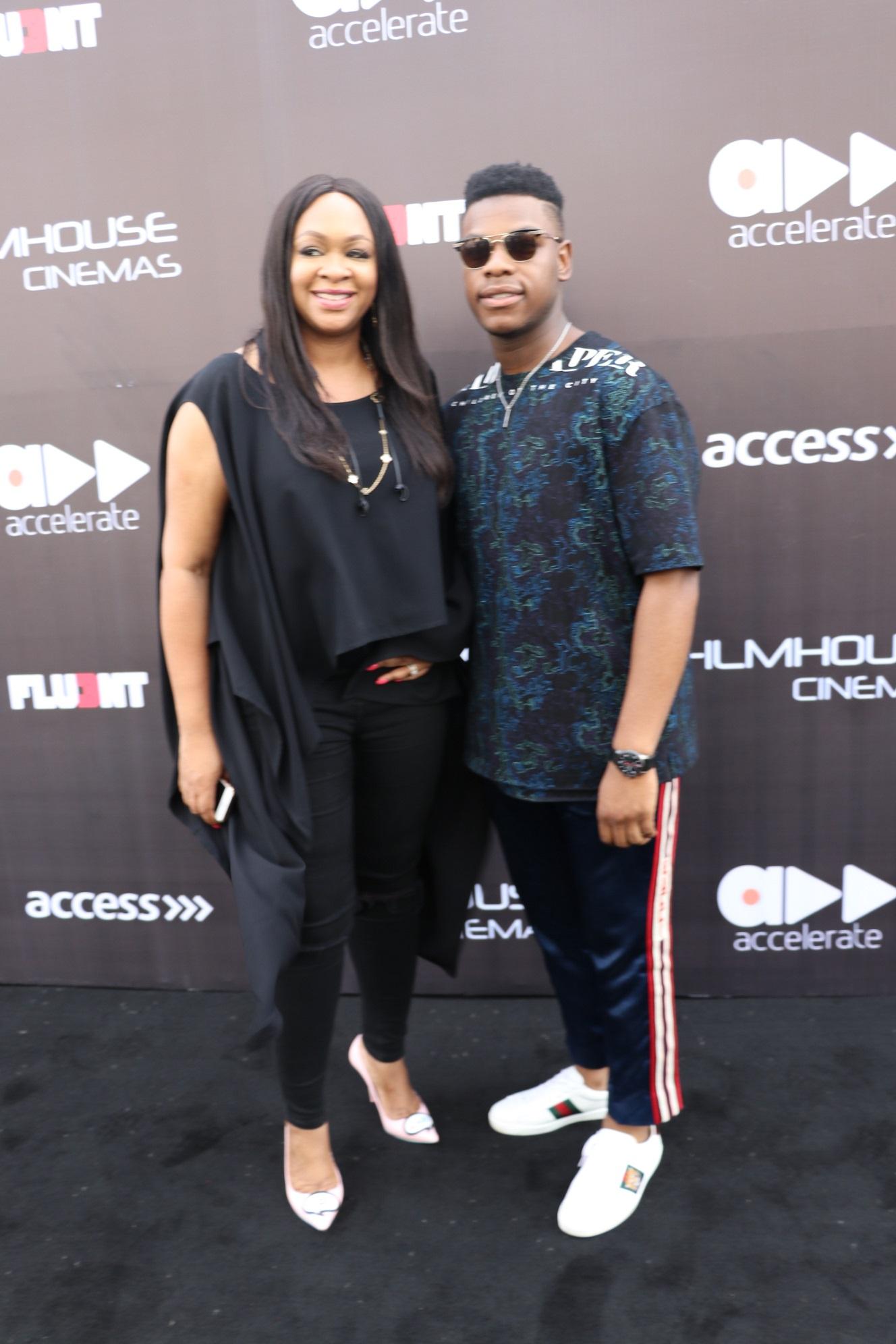 Colette Otusheso & John Boyega