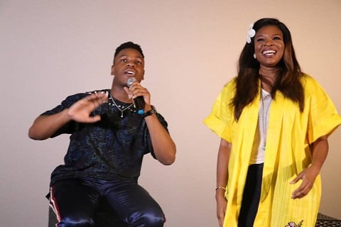 Kemi Adetiba & John Boyga