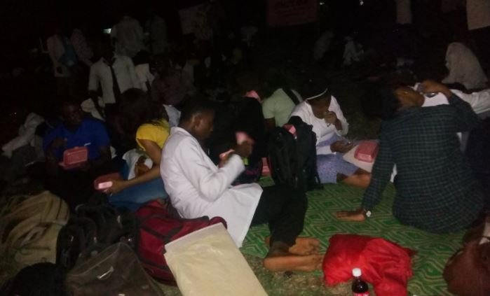 UI medical students sleep outside after eviction from hostel