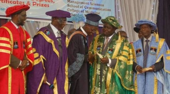 My first SSCE was dotted with F9s, says LASU's best…