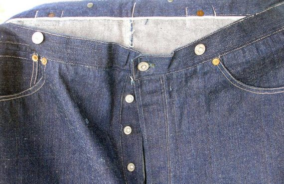 Century-old Levi's jeans sold for nearly $100,000 at auction