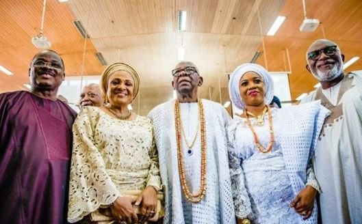 PHOTOS: Osinbajo, Ajimobi, Akeredolu converge to celebrate Micheal Ade-Ojo at…