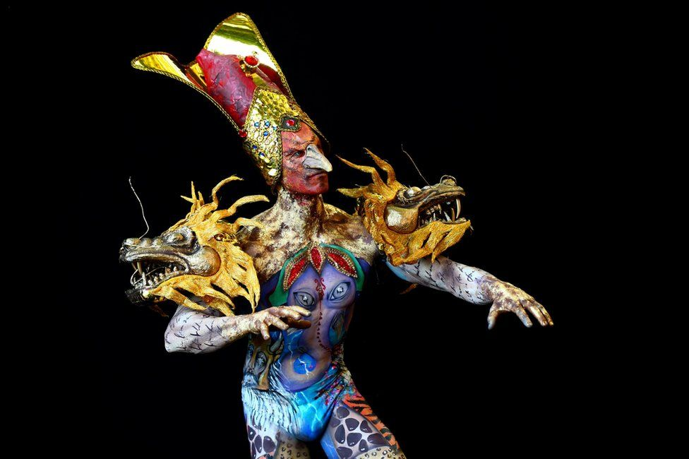 mindblowing body art at 2018 world bodypainting festival