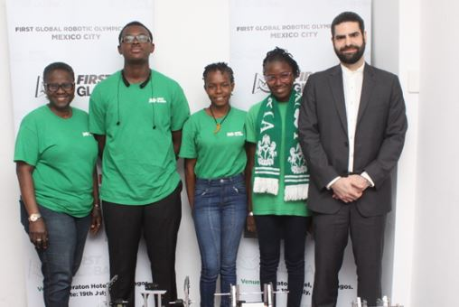 Three Nigerian students to take part in World Adolescent Robotics…