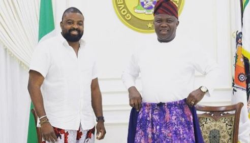 My Kembe collection doing well… even Ambode is rocking it,…