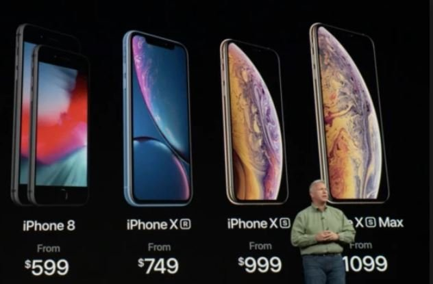 Apple unveils premium iPhone XS, health features for watch