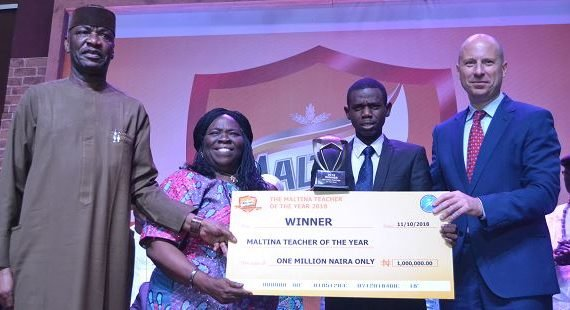 Opeifa emerges 2018 Maltina teacher of the year