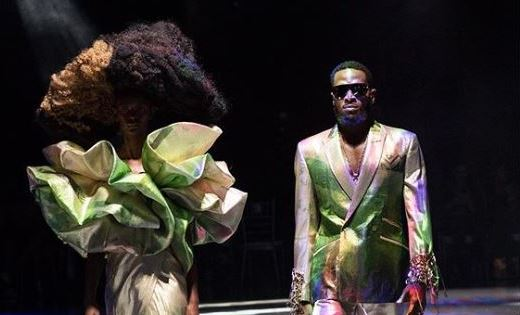 PHOTOS: Dbanj walks the runway for David Tlale in Johannesburg