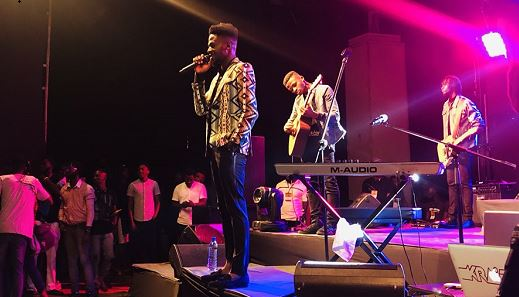 PHOTOS: Johnny Drille wows fans, cries at first live concert