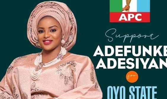 Actress Funke Adesiyan clinches APC ticket for Oyo assembly election