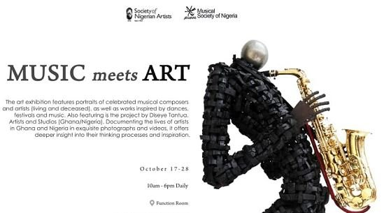 Nigerian artists partner MUSON for 'Music meets Arts'