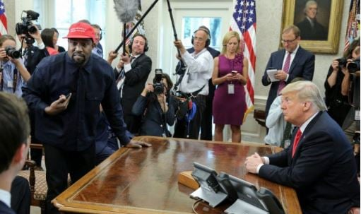 VIDEO: Kanye West's much-criticised meeting with Trump